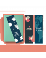Printed Bookmark (Set Of 3) - BM05