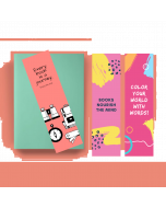Printed Bookmark (Set Of 3) - BM06