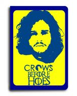 A5 NOtebook Crows Before Hoes