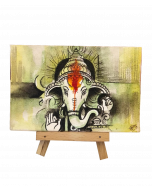 Hand Painted Mini Canvases - Ganesh