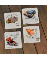 Coasters (Set of 4)- CC02
