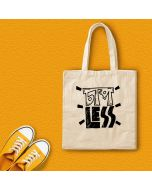 Chapless Canvas Tote Bag