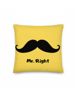 Cushion Cover- Mr. Right