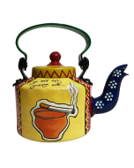 Hand Painted Kettle Tomake Chai