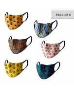 MASKS (PACK OF 6) MS603