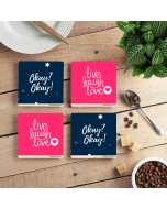 Love Coffee Coaster (set of 4)