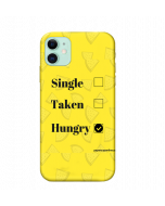 iPhone 11 Back Cover Single Taken Hungry