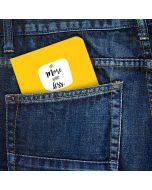 Pocket Notebook- Live More Worry Less