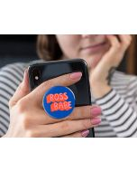 Pop Socket Expanding Stand And Grip For Smart Phone-Boss Babe Blue