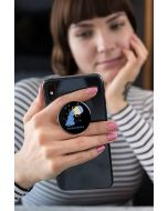 Pop Socket Expanding Stand and Grip for Smartphones-Aquarious