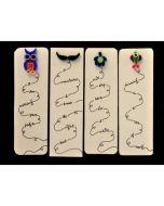 Set of Quilled Bookmarks