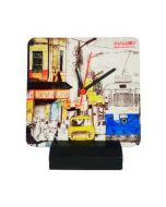 Table Clock- Tram Taxi