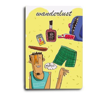 A5 Notebook  Wanderlust Male