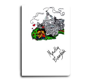 A5 Notebook Madly bangali