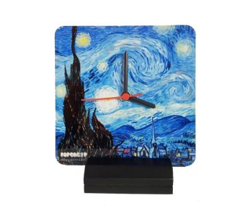 Table Clock-Starry Night