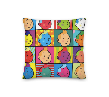 Cushion Cover Tintin Pop Art