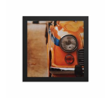 Half Taxi Framed Wall Art