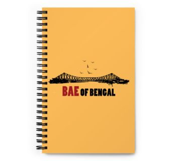 Wire O Notebook-Bae of Bengal