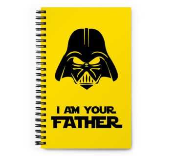 Wire O Notebook-I am your Father