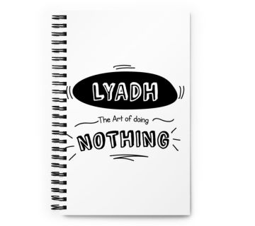 Wire o notebook-lyadh the art of doing nothing