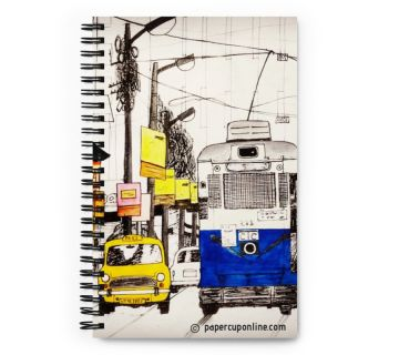 Wire o notebook - Tram Taxi
