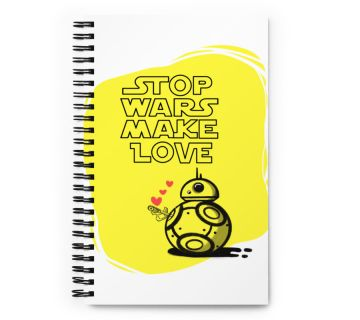 Wire o notebook - Stop Wars make Love