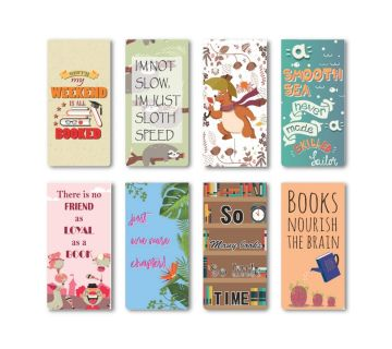 Magnetic Bookmark|Book Lovers Gift|Gift for Readers Set of 8