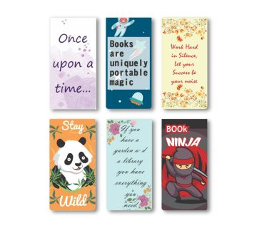 Magnetic Bookmark|Book Lovers Gift|Gift for Readers Set of 6