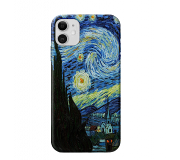 iPhone Back Cover Starry Starry Night