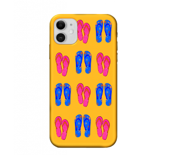 iPhone 11 Back  Cover Beach Slippers Travel