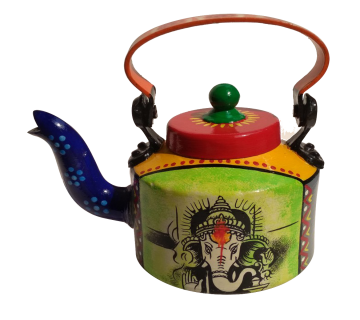 Hand-painted Kettle Lord Ganesha