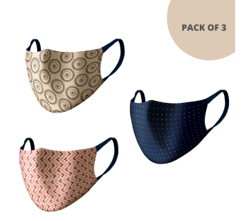 MASKS (PACK OF 3) MS301
