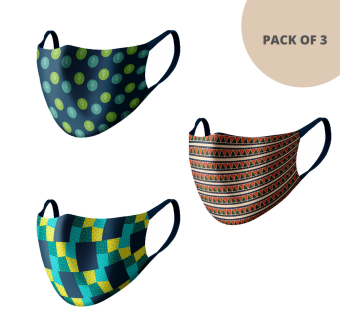 MASKS (PACK OF 3) MS303