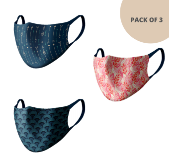 MASKS (PACK OF 3) MS304