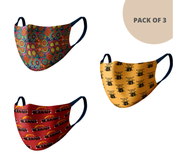 MASKS (PACK OF 3) MS305