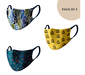 MASKS (PACK OF 3) MS306