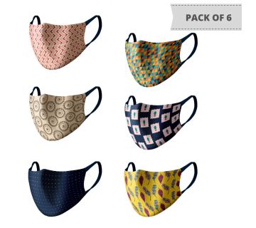 MASKS (PACK OF 6) MS601