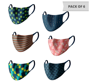 MASKS (PACK OF 6) MS602
