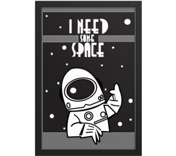 I Need Some Space Framed Wall Art