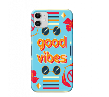 iPhone Back Cover good Vibes