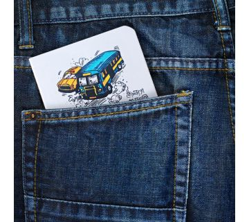 Pocket Notebook- Bus Taxi
