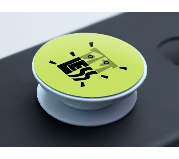 Pop Socket Expanding Stand and Grip for Smartphones- Chapless