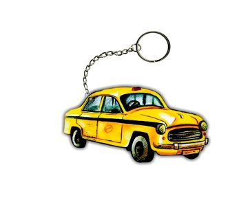 Key Chain Yellow Taxi